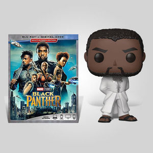 Black Panther White Robe Blu-ray Bundle