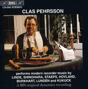 Performs Modern Recorder Music