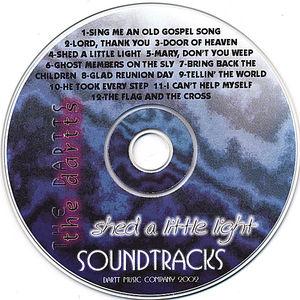 Shed a Little Light Soundtracks