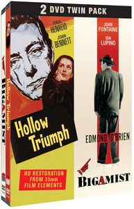 Hollow Triumph /  The Bigamist 2 DVD Twin Pack