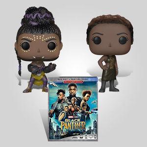 Black Panther Women Blu-ray Bundle