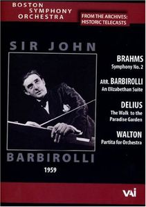 Boston Symphony Orchestra: Historic Telecasts: Sir John Barbirolli