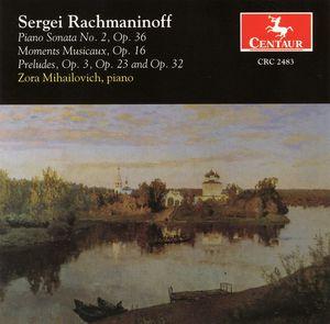 Piano Sonata No 2 Op 36 /  Moments Musicaux Op 16
