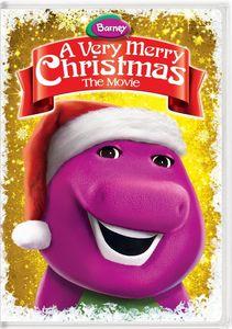 Barney: A Very Merry Christmas - The Movie - New Artwork