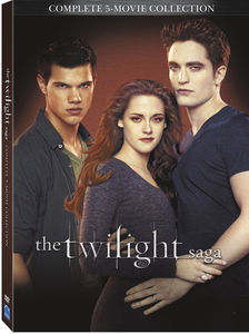 The Twilight Saga: Complete 5-Movie Collection