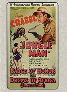 Badge of Honor (1934) /  Jungle Man (1941)