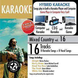 Karaoke: Mixed Country, Vol. 16