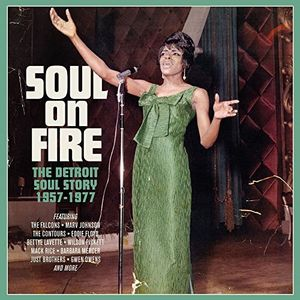 Soul On Fire: Detroit Soul Story 1957-1977 /  Various [Import]