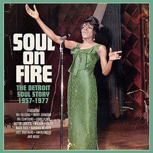 Soul On Fire: Detroit Soul Story 1957-1977 /  Various [Import]