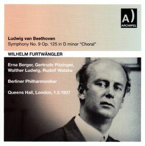 Sinfonie 9 /  London 1937