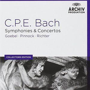 Coll Ed: C.P.E. Bach Symphonies & Concertos