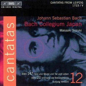 Cantatas Vol 12