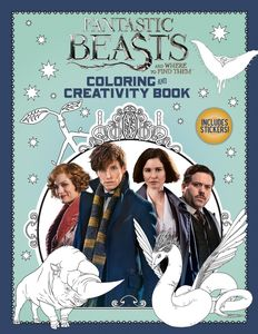 COLORING AND CREATIVITY BOOK FANTASTIC BEASTS