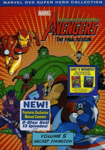 The Avengers: Earth's Mightiest Heroes!: The Final Season: Volume 5: Secret Invasion