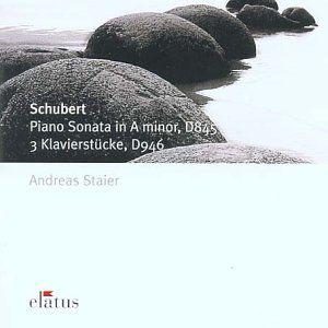 Schubert: Pno Sonata D845 /  3 Klavierstucke D946