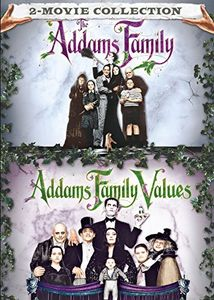 The Addams Family /  Addams Family Values 2 Movie Collection