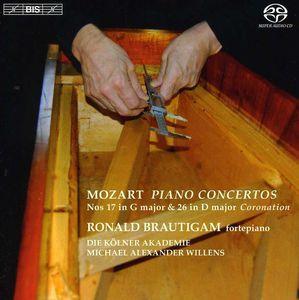 Piano Concertos Nos. 17 in G Major & 26 in D Major