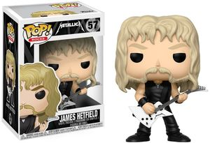 FUNKO POP! ROCKS: Metallica - James Hetfield