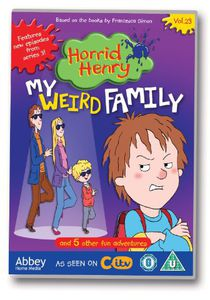 Horrid Henry-My Weird Family [Import]