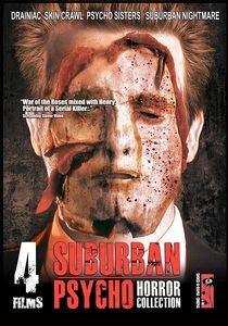 SUBURBAN PSYCHO HORROR COLLECTION: 4 MOVIES ON 3 DVDS