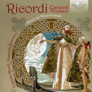 Giulio Ricordi: Music for Piano 4 Hands
