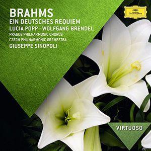 Popp /  Brendel /  Sinopoli /  Czech Phil Orch : Virtuoso: Brahms - Ein Deutsches Requiem