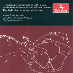 Suite for Orchestra & Solo Viola