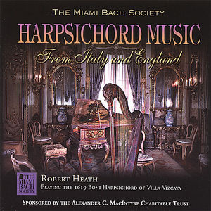 Harpsichord Music from Italy & England