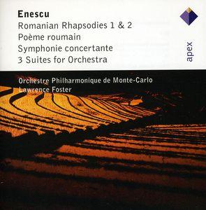 Enescu: Romanian Rhapsodies Nos 1 & 2 /  3 Suites