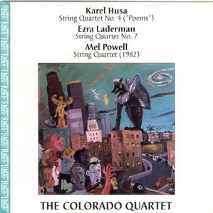 Quartets By Husa, Laderman & Powell
