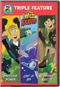 Wild Kratts: Triple Feature: Predator Power, Lost at Sea, And Rainforest Rescue