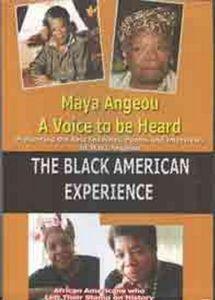 Maya Angeou a Voice to Be Heard - Black American