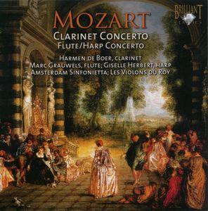 Clarinet Concerto: Flute & Harp Concerto