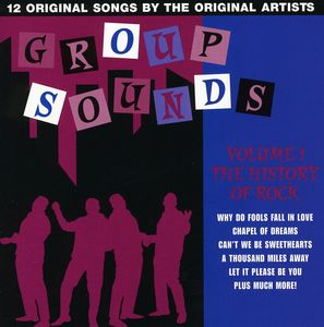 History of Rock 1: Group Sounds /  Various