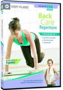 Stott Pilates: Back Care Repertoire