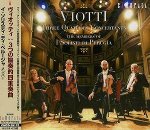 Three Quatuors Concertants