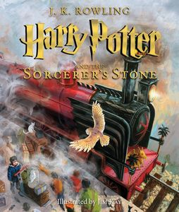 HARRY POTTER AND THE SORCERERS STONE ILLUS EDITION