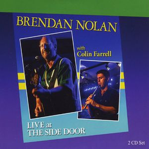 Brendan Nolan with Colin Farrell Live at the Side
