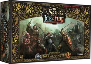 SONG OF ICE & FIRE: STARK VS LANNISTER STARTER SET