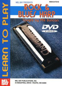 Learn to Play Rock & Blues Harp