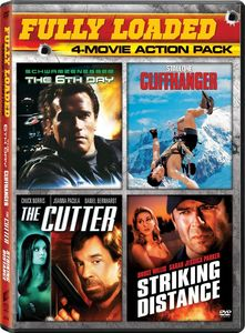 Fully Loaded 4-Movie Action Pack: 6th Day /  The Cutter /  Cliffhanger /  Striking Distance