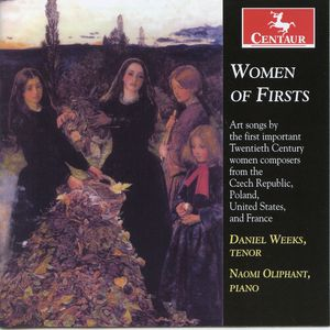 Women of Firsts: Art Songs By the First Important