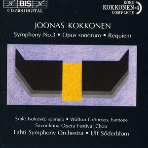 Symphony 3 /  Opus Sonorum /  Requiem
