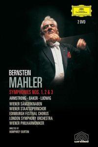 Bernstein: Mahler: Symphonies Nos. 1, 2 & 3 [Import]