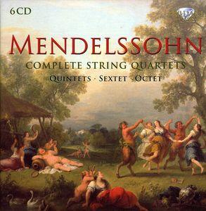 Complete String Quartets Quintets Sextets & Octet