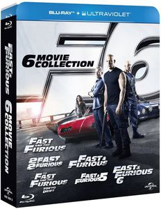 Fast & Furious: 6-Movie Collection [Import]