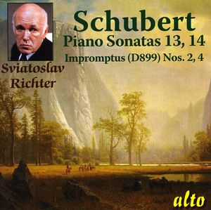Piano Sonatas 13 & 14: Impromptus Op 94