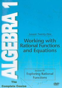 Working With Rational Function