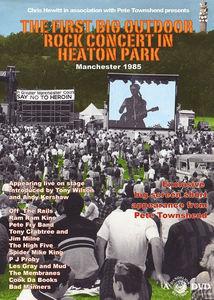 First Big Outdoor Rock Concert in Heaton