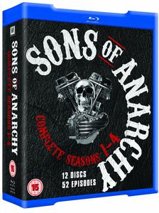 Sons of Anarchy: Seasons 1-4 [Import]